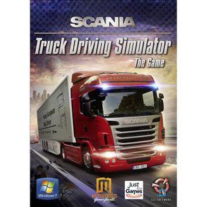 JEU PC SCANIA TRUCK DRIVING SIMULATOR  / Jeu PC