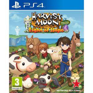 JEU PS4 Harvest Moon - Lumière d'espoir: Edition Spéciale