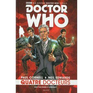 COMICS Doctor Who. Quatre Docteurs
