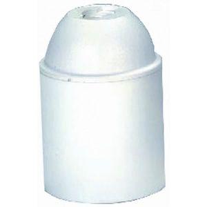 VOLTMAN Accessoire d'Eclairage Douille Lisse Plastique Blanc