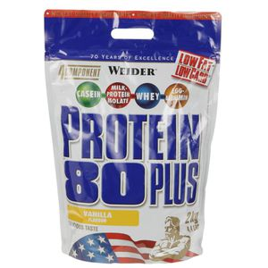 PROTÉINE WEIDER Protein 80+ 2 kg  Vanille NTT