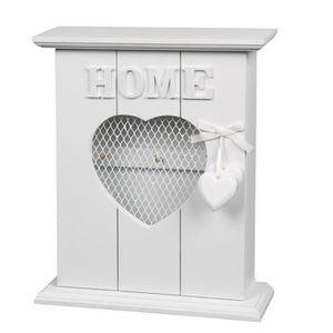 armoire a cle en bois achat vente armoire a cle en bois pas cher soldes d s le 10 janvier. Black Bedroom Furniture Sets. Home Design Ideas