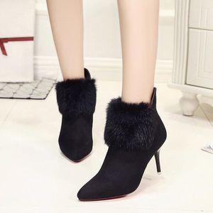 Nouvelles femmes botte flats façon confortable bottes molles chaussures zNB3w