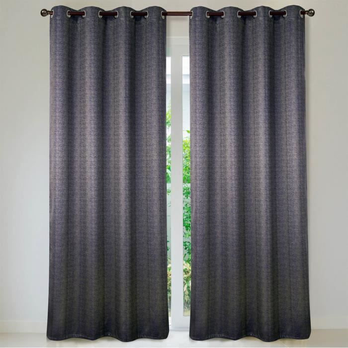 best rideaux bleu gris images. Black Bedroom Furniture Sets. Home Design Ideas