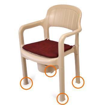 rehausser de chaise achat vente rehausser de chaise pas cher cdiscount. Black Bedroom Furniture Sets. Home Design Ideas