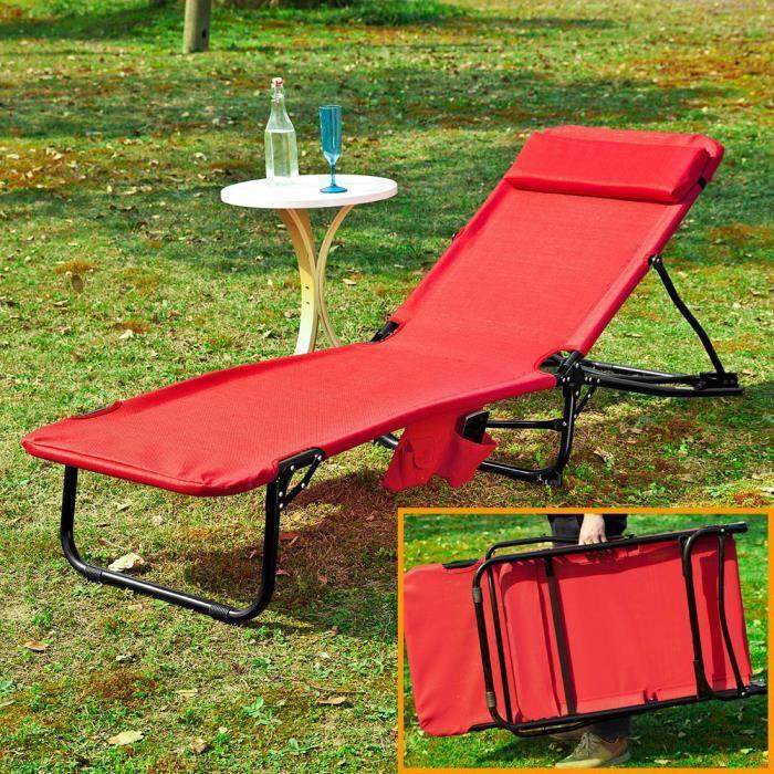 Transat relax jardin achat vente transat relax jardin for Chaise longue avec pare soleil pas cher