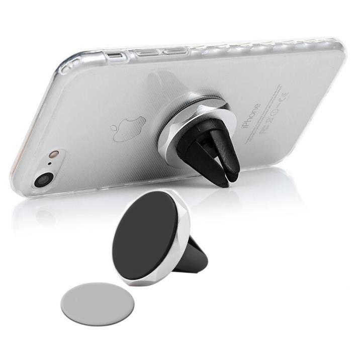 FIXATION - SUPPORT Tikawi x2 Support Téléphone Voiture Magnétique UNI