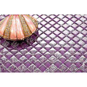 carrelage mosaique violet achat vente pas cher. Black Bedroom Furniture Sets. Home Design Ideas
