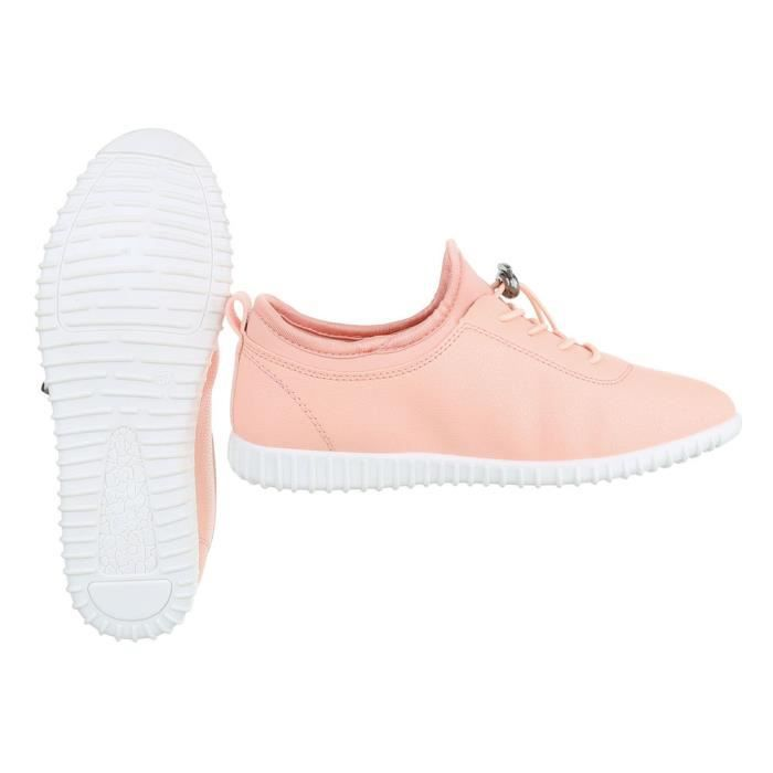 Chaussures femme chaussures sportSneakers Chaussures de sport vieux rose 41 t2H8F