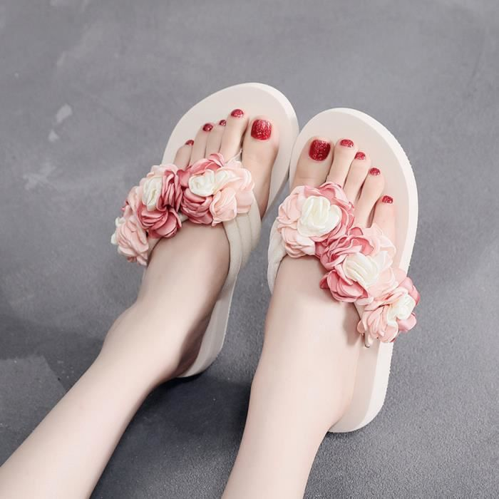 Multi Fleur Casual Chaussures Rose gâteau usages Chaussons Mode Camelli Hermitage H9EIbeWD2Y