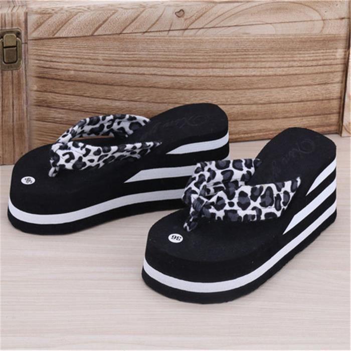 Femmes tongs Nouvelle arrivee marque de luxe chaussure sandales plages Haut qualité femme sandale pantoufles d dssx133noir37 cV7c8mKQ