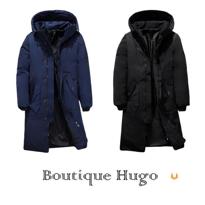 longue Doudoune Veste Duvet mi Vêtements Fashion De Chuad Canard Boutique Homme Hiver Capuche À Blouson Hugo EqwUpUxzt