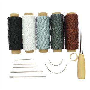 KIT DE COUTURE 14pcs Craft cuir outil Aiguilles à coudre main tap 97da5a1575e