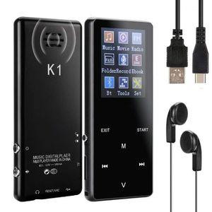 LECTEUR MP3 Lecteur MP3 Bluetooth capacité de 16Go Haut-parleu
