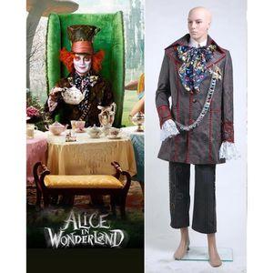DÉGUISEMENT - PANOPLIE Cosplay Alice in Wonderland Chapelier fou Set de C