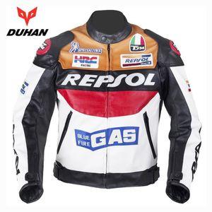 BLOUSON - VESTE DUHAN Hommes Moto Racing Vestes Moto GP REPSOL Mot