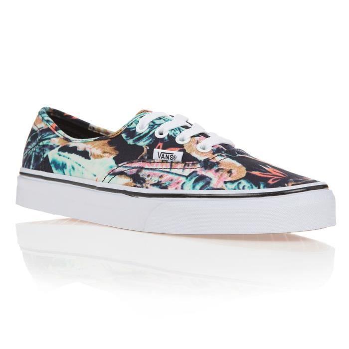 Multicolor Tropical Authentic Vans Chaussures Femme Multicolore 441FxSp