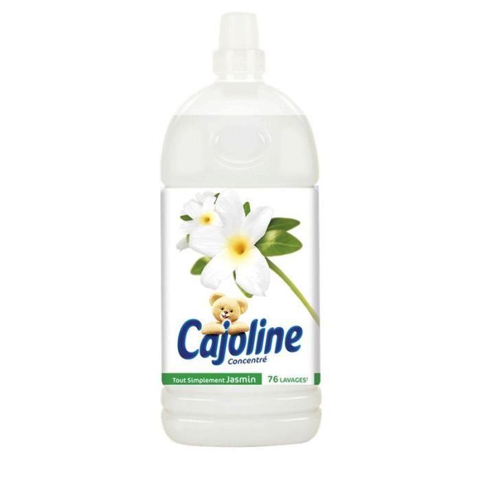 CAJOLINE Adoucissant tout simplement jasmin - 1,9L