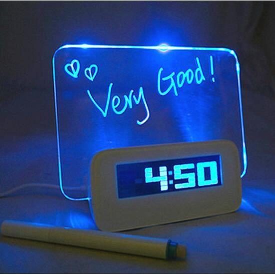 R veil digital tableau led bleu message lumineux - Tableau lumineux a led ...