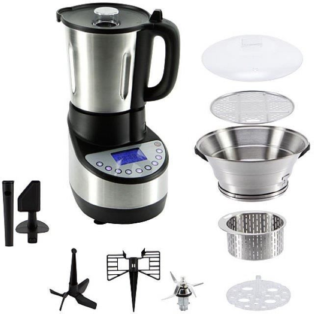 facilicook robot culinaire multifonctions 1500w achat. Black Bedroom Furniture Sets. Home Design Ideas