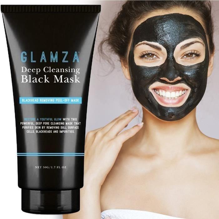 d806f661308f Masque Noir anti points noirs blackhead remover pour le visage – Glamza –  Masque extracteur de points noirs