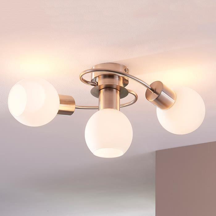 plafonnier led 3 ampoules