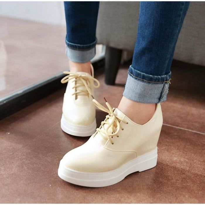 oxford chaussures style collège solide coin cac... msrbllS