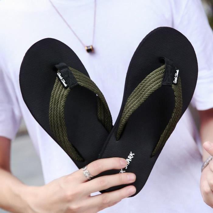 Chaussures Été Mode Hommes Créatif Occasionnelles De Simple Nouveaux La Sandales 2018 AwT8g