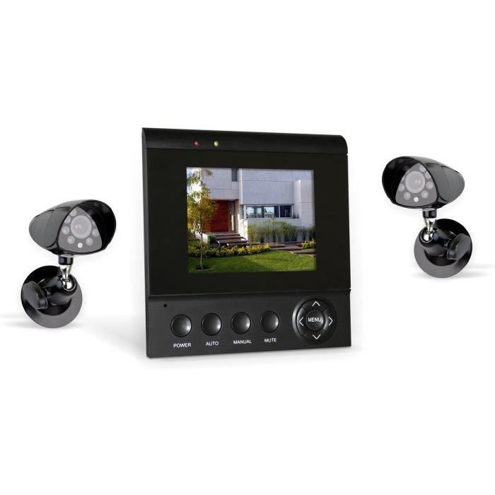 camera de surveillance sans fil exterieur avec ecran - achat