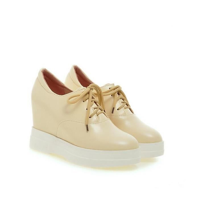 oxford chaussures style collège solide coin cac... ObvLDuSVT