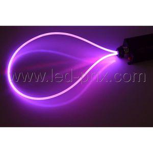... PROJECTEUR   LAMPE Kit Complet Fibre Optique Néon 20m Spécial Piscine.  U2039u203a
