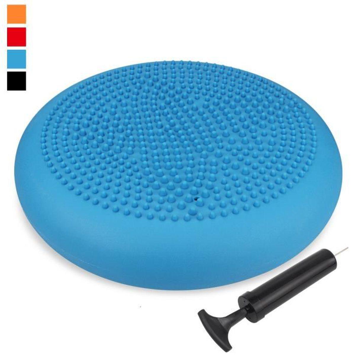 33cm pvc gonflable yoga ballon de fitness pad stabilité disque