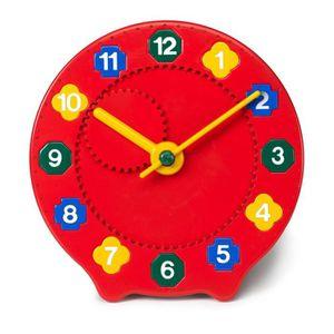 JEU D'APPRENTISSAGE VIKINGTOYS - Grande Horloge Educative à formes