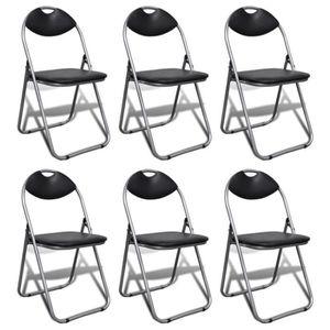 Chaises de salle a manger pliante - Achat / Vente pas cher