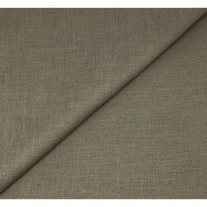 RIDEAU Tissu lin Lourd -(col taupe clair )  280cm , au mè