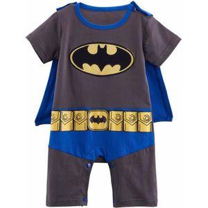 dcec316777175 Ensemble de vêtements Vêtements de bébé Garcon Batman Cosplay Grenouillè