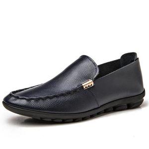 moccasins homme en cuir Grande Taille Antidérapant Loafer Haut qualité moccasin homme cuir 2017 nouvelle marque de luxe chaussure kbI9LZc