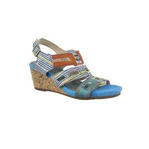 SANDALE - NU-PIEDS sandales - nu pieds laura vita 1900 benoit 27 bleu