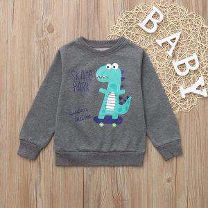 Ensemble de vêtements Lettre Dinosaur enfants Enfants Garçons T-shirt im