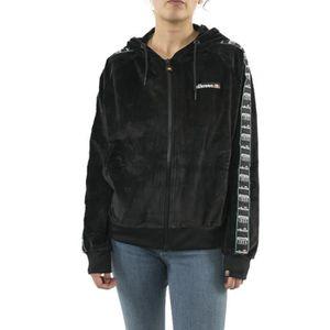 SWEATSHIRT Sweat Ellesse Aosta Zippé Noir pour femmes. SGC072