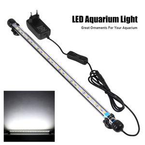 DÉCO VÉGÉTALE - RACINE 48cm Lumière submersible Lampe sous-marine 24 LED