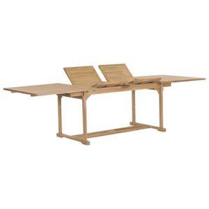 Table de jardin teck 180 cm - Achat / Vente pas cher