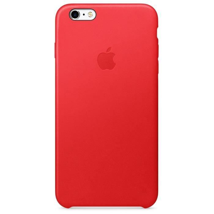 Apple Coque en Cuir pour iPhone 6 Plus/6S Plus - (Product)red