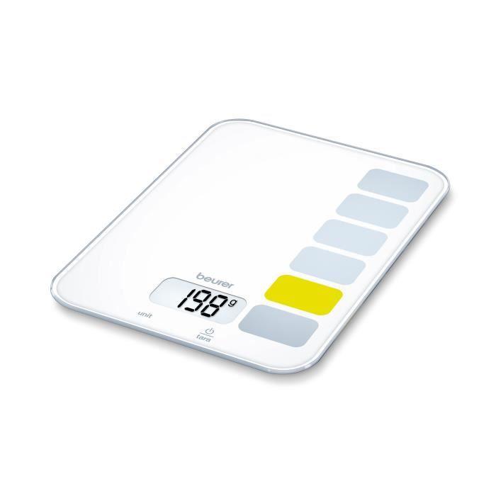 BEURER KS 19 Balance de cuisine Sequence - Blanc