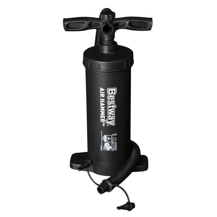 BESTWAY Pompe à air Air Hammer 2 x 1300 cc - Color Box