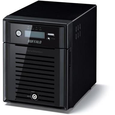BUFFALO Serveur NAS TeraStation 5400 WSS - 4 Baies - 8 To - SATA 3Gb/s - HDD 2 To x 4 - RAID 0, 1, 5, JBOD - RAM 4 Go