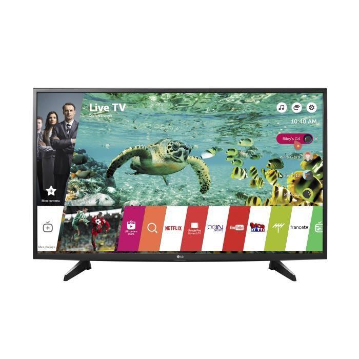 Lg 49uh610 tv led 4k uhd 123 cm 49 smart tv 2 x hdmi classe énergétique a