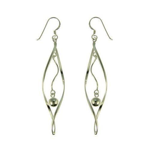 . Boucles doreilles pendantes. S. ER9251-. Femme. Argent 4. Gr.…