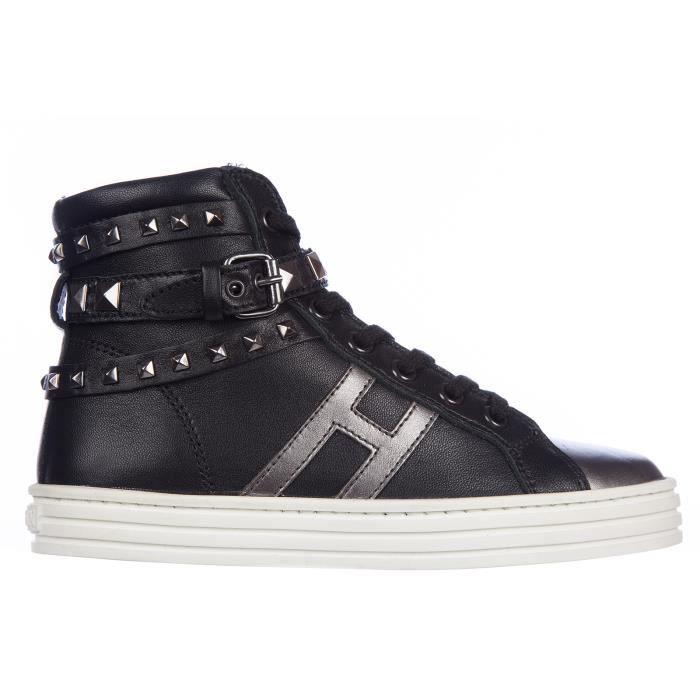 Chaussures baskets sneakers filles en cuir rebel Hogan