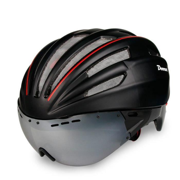 PC Couverture VTT Vélo De Route Casque Vélo Casque Super Cyclisme en Toute Sécurité Cap Casques Casque De Vélo pour Hommes Ultralight EPS